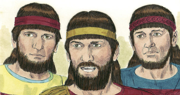 Biblical illustrations by Jim Padgett, courtesy of Sweet Publishing, Ft. Worth, TX, and Gospel Light, Ventura, CA. Copyright 1984